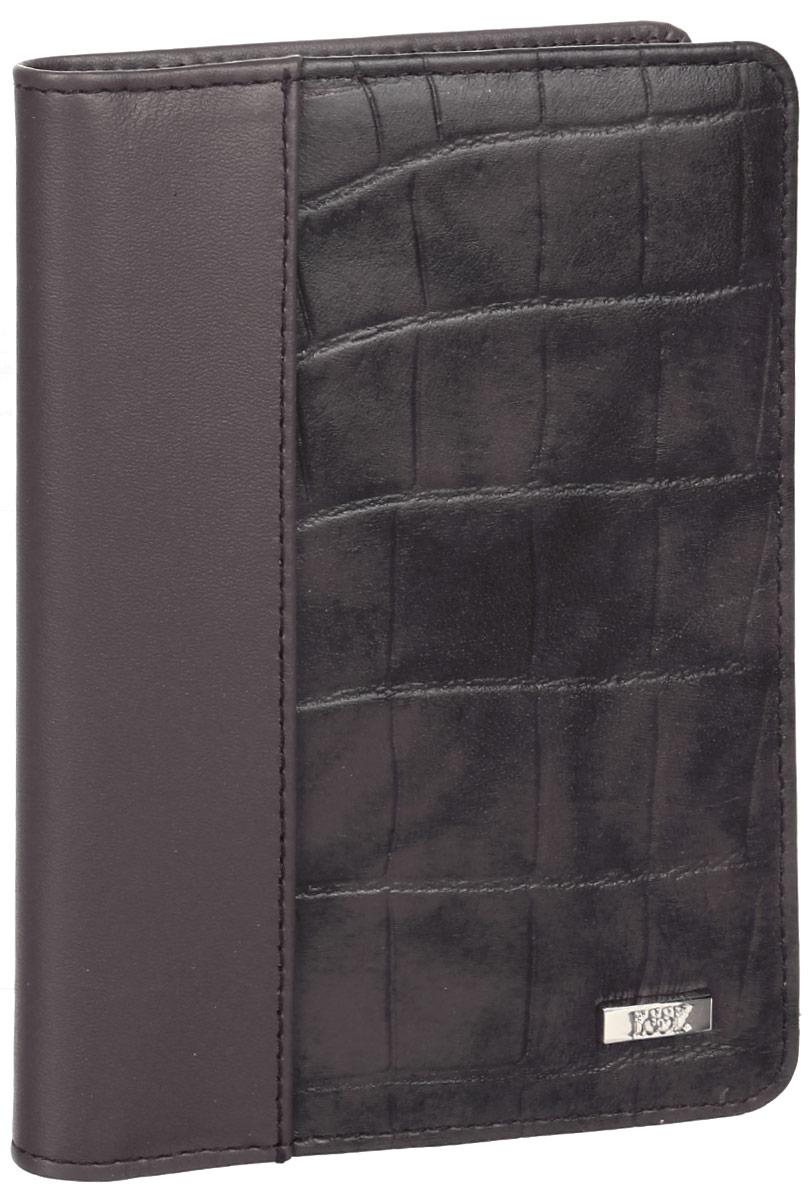 Обложка для автодокументов женская Esse Page Auto Terra, цвет: коричневый. GPGA00-000000-FH713O-K100GPGA00-000000-FH713O-K100Стильная обложка для автодокументов Esse Page Auto Terra изготовлена из натуральной кожи с тиснением. Лицевая сторона изделия оформлена небольшой металлической пластиной с гравировкой в виде названия бренда. Внутри изделия расположены три прорезных кармана для пластиковых карт, два открытых кармана, съемный блок для документов, включающий в себя шесть прозрачных файлов, один из которых формата А5. Изделие поставляется в фирменной упаковке. Обложка для автодокументов поможет сохранить внешний вид ваших документов и защитить их от повреждений, а также станет стильным аксессуаром.