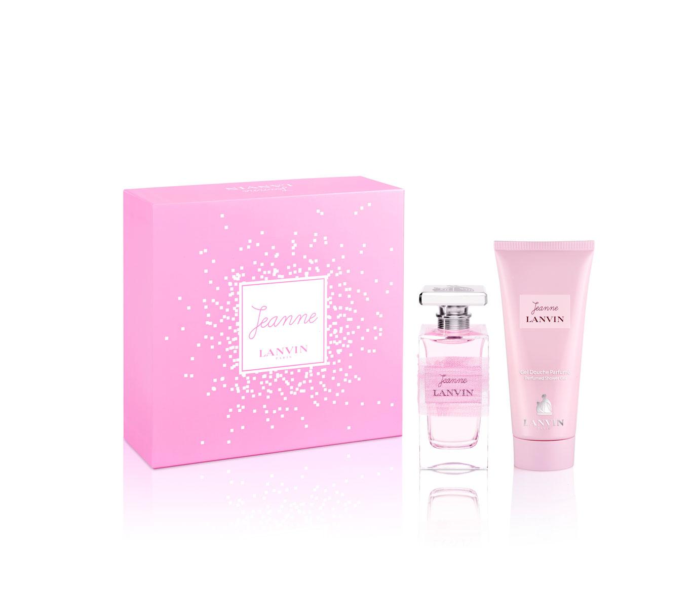 Lanvin Jeanne Woman Подарочный набор: парфюмированная вода + лосьон для тела 100 мл11214Цветочные, фруктовые. Амбра, мускус, сандаловое дерево, малина, пион, фрезия, груша, ежевика, цитрусы.
