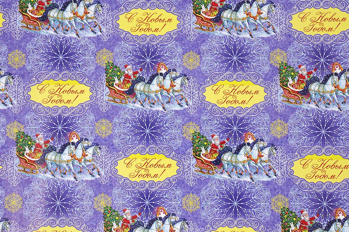 Бумага упаковочная Феникс-Презент Дед Мороз на тройке, 100 х 70 см41856Упаковочная бумага Феникс-Презент Дед Мороз на тройке оформлена полноцветным декоративным рисунком. Подарок, преподнесенный в оригинальной упаковке, всегда будет самым эффектным и запоминающимся. Бумага с одной стороны мелованная. Окружите близких людей вниманием и заботой, вручив презент в нарядном, праздничном оформлении. Размер: 100 х 70 см. Плотность бумаги: 80 г/м2.