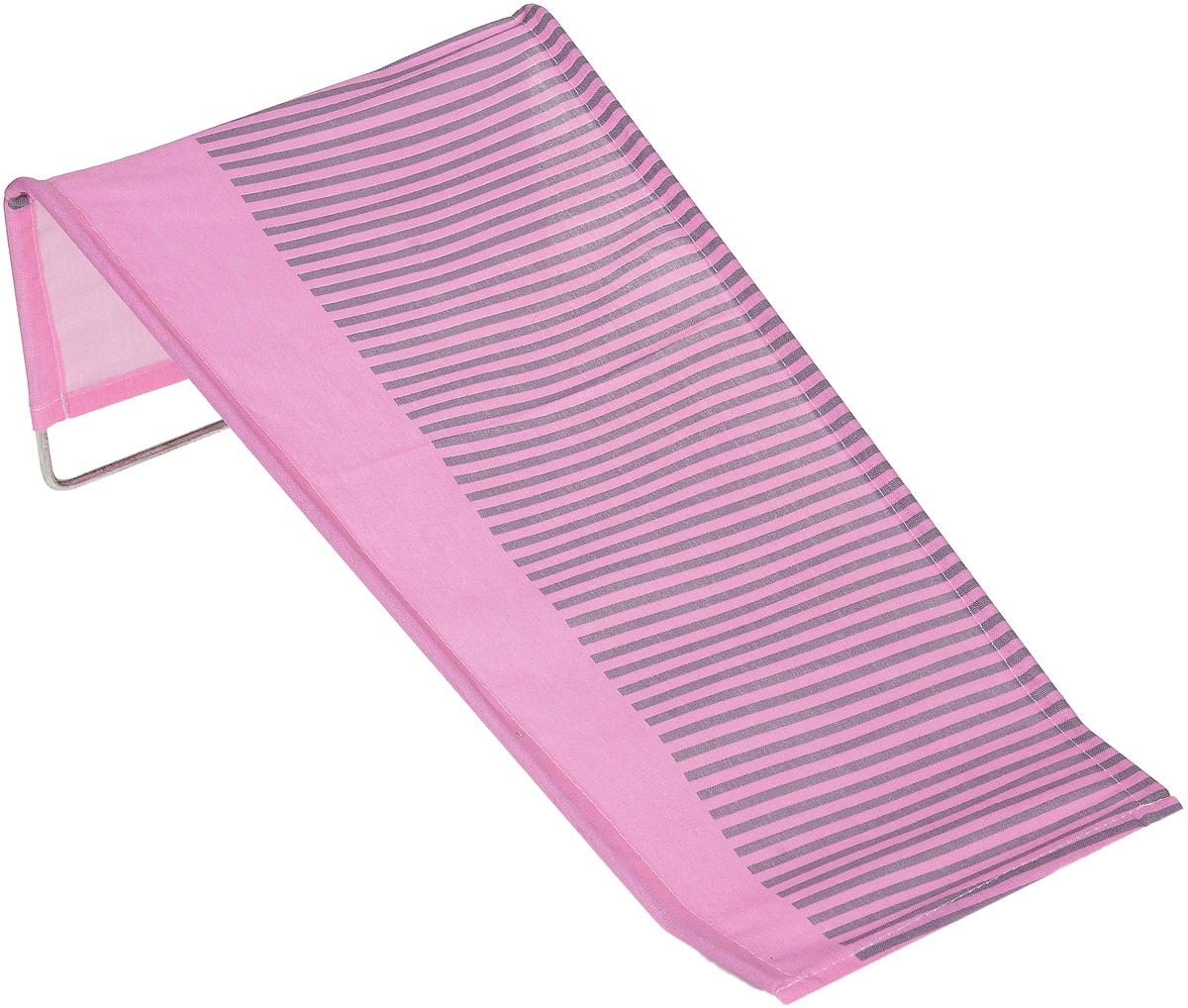 Фея Подставка для купания Бязь цвет розовый серый0001332-01_полоска, розовый, серыйПодставка для купания Фея - это удобный способ мытья и прекрасная возможность побаловать вашего малыша. Эргономичный дизайн подставки разработан специально для комфорта и безопасности вашего ребенка. Основу подставки составляет металлический каркас, обтянутый тканью. Подарите своему малышу радость и комфорт во время купания! Подставка предназначена для купания детей в возрасте до 1 года. Фея - это качественные и надежные товары для малышей, которые может позволить себе каждая семья! Правила ухода за чехлом: после использования хорошо просушить. Запрещается использование моющих средств, содержащих щелочь.