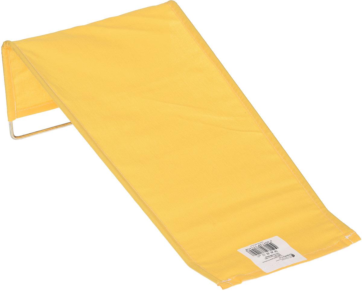 Фея Подставка для купания Бязь цвет темно-желтый