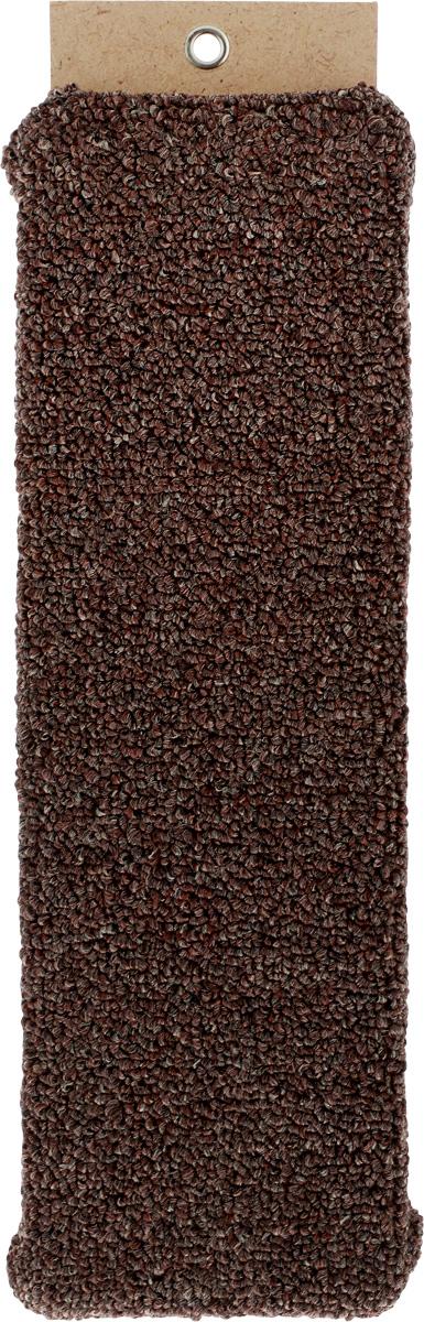 Когтеточка Меридиан, настенная, цвет: коричневый, ширина 12 смК011Настенная когтеточка Меридиан предназначена для стачивания когтей вашей кошки и предотвращения их врастания. Волокна ковролина обеспечивают естественный уход за когтями питомца. Когтеточка позволяет сохранить неповрежденными мебель и другие предметы интерьера. Длина когтеточки: 40 см. Длина рабочей части: 37 см.