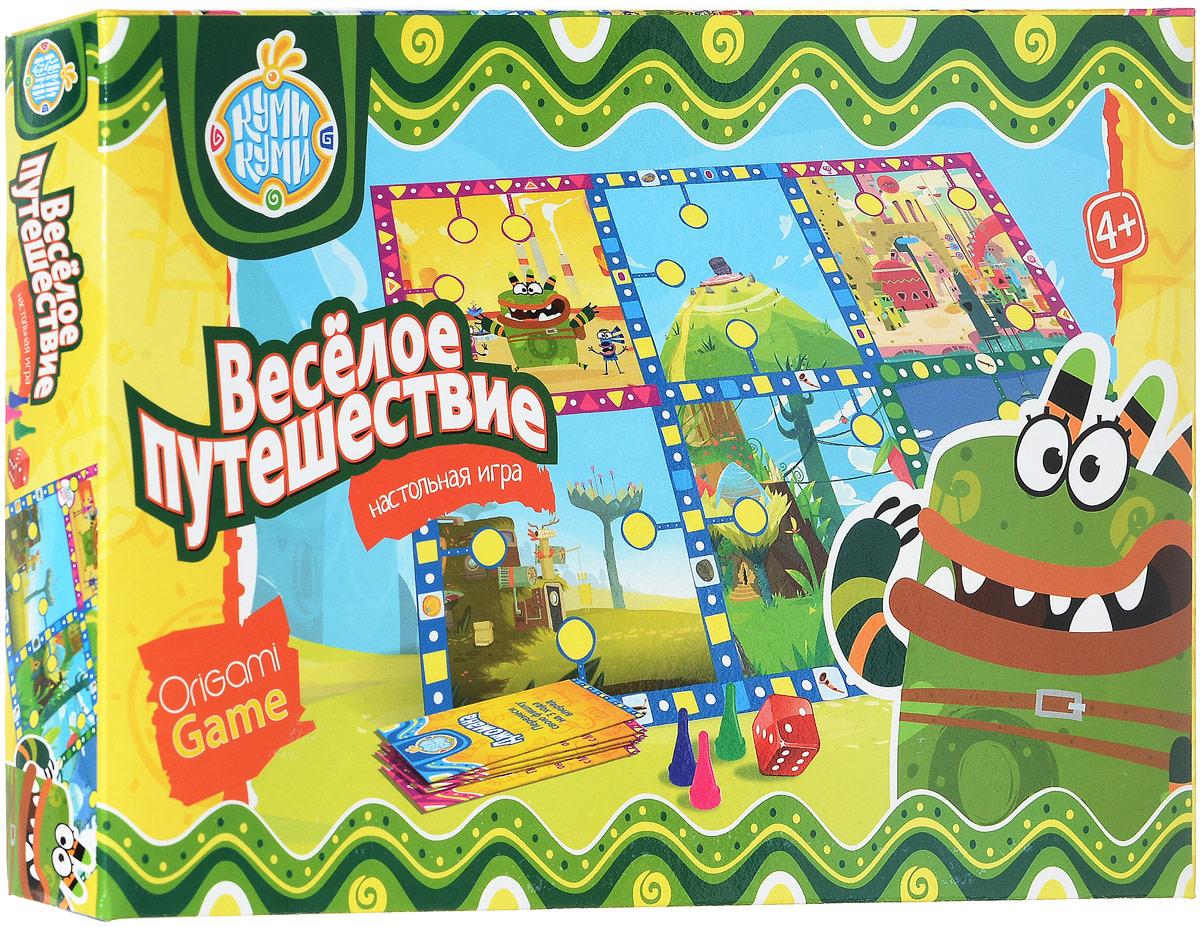 Оригами Настольная игра Веселое путешествие 01558_2