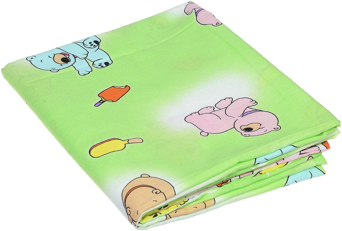 Фея Пододеяльник детский Мишки и мороженное 110 см х 140 см0001054-4_мишки, мороженное, зеленыйДетский пододеяльник Фея Мишки и мороженое идеально подойдет для одеяла вашего малыша. Изготовленный из 100% хлопка, он необычайно мягкий и приятный на ощупь, позволяет коже дышать. Натуральный материал не раздражает даже самую нежную и чувствительную кожу ребенка, обеспечивая ему наибольший комфорт. Приятный рисунок пододеяльника, несомненно, понравится малышу и привлечет его внимание. Под одеялом с таким пододеяльником кроха будет спать здоровым и крепким сном. Предварительная стирка обязательна!
