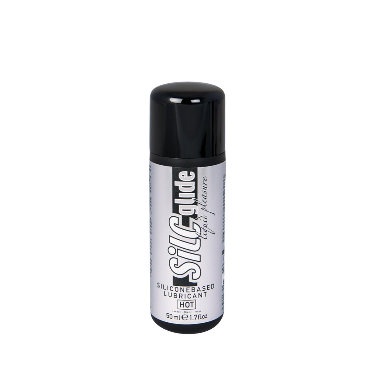 Hot Лубрикант на силиконовой основе Силк Глайд 50 мл44040Обладает хорошими смазывающими и увлажняющими свойствами, улучшает скольжение, устраняя неприятные ощущения во время полового акта.