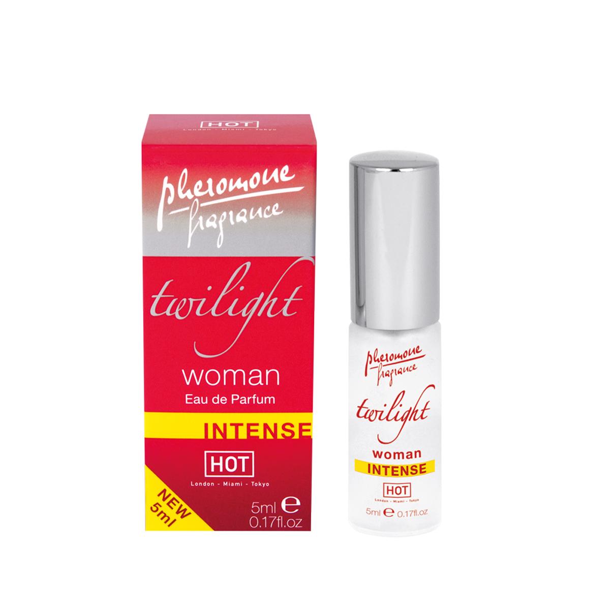 Hot Женские духи с феромонами Twilight Intense 5 мл55055Высококачественный парфюм, обогащенный феромонами. Этот аромат поразит желанную цель прямо в сердце!