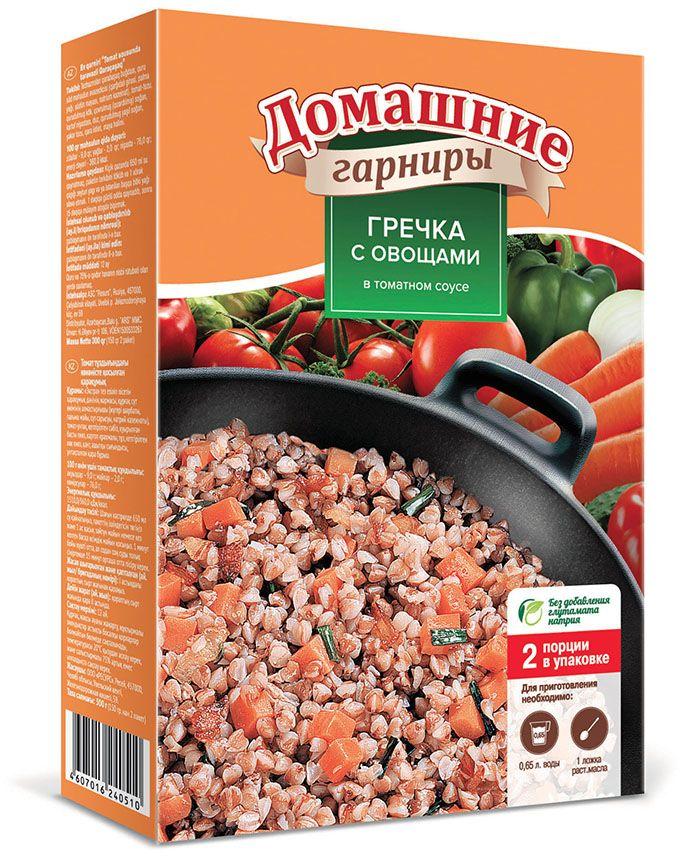 Увелка гарнир гречка с овощами в томате, 2 пакетика по 150 г360