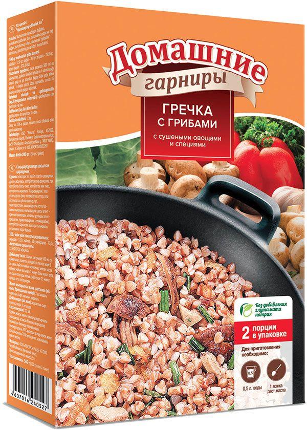 Увелка гарнир гречка с грибами, 2 пакетика по 150 г 361