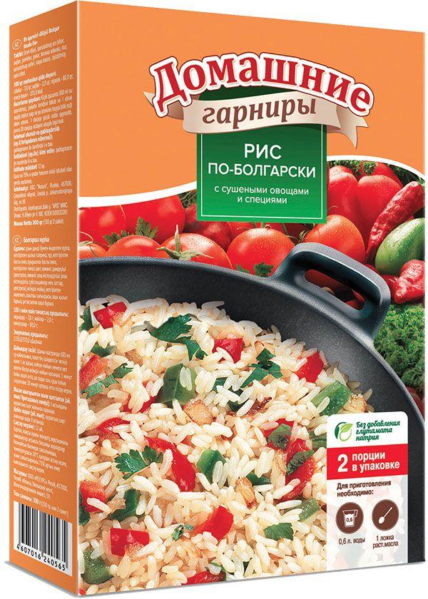 Увелка гарнир рис по-болгарски, 2 пакетика по 150 г365