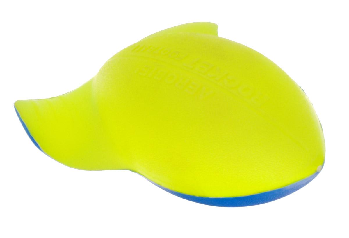 Aerobie Мяч Rocket Football цвет желтый синий