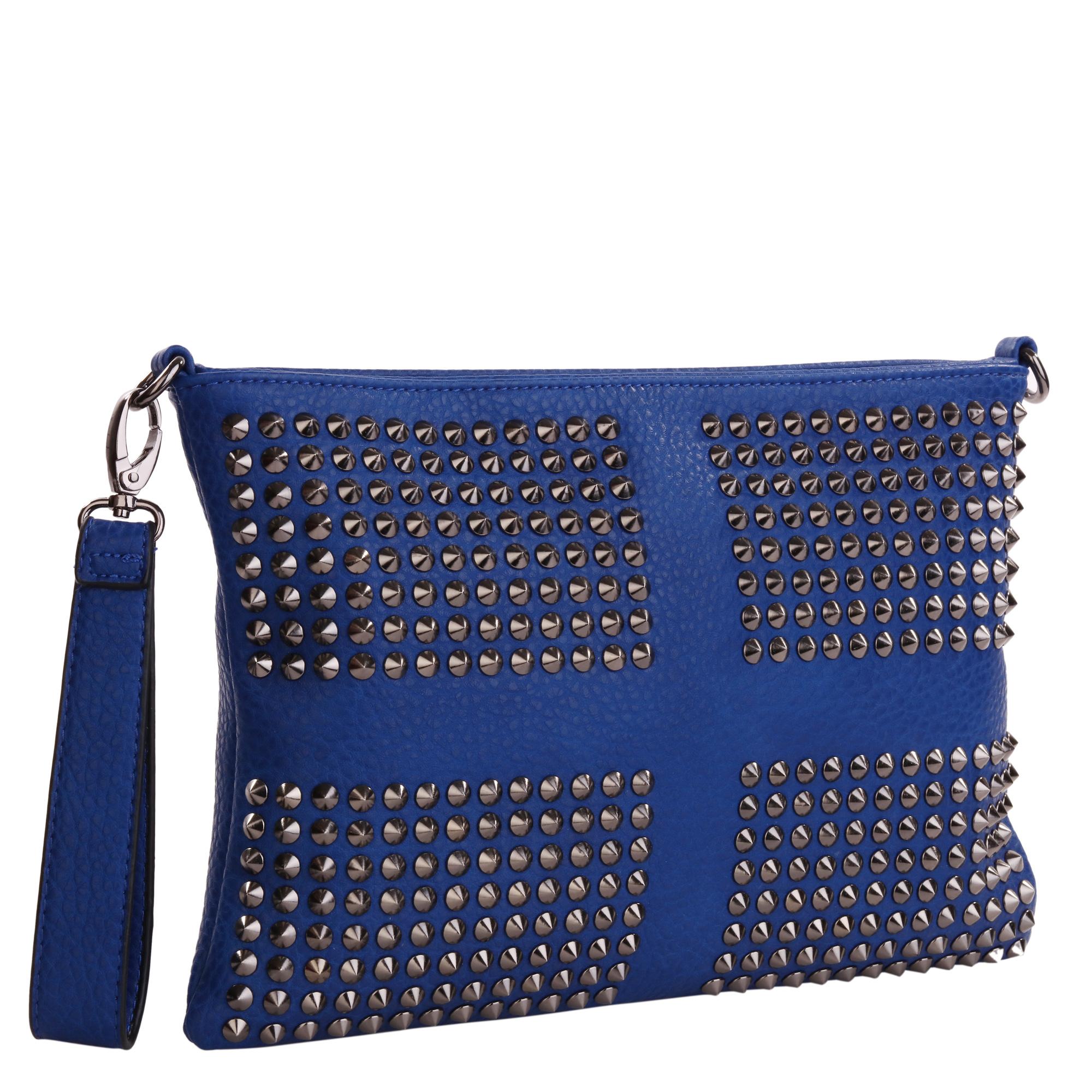 Сумка женская Pola, цвет: синий. 8273-048273-04Женская сумка Pola выполнена из экокожи. Основное отделение закрывается на молнию, внутри два открытых кармана и карман на молнии. Снаружи карман на молнии сзади сумки. В комплекте съемный плечевой ремень, регулируемый по длине, максимальная высота 58 см. Также есть съемная ручка для переноски на кисти. Цвет фурнитуры- черный.
