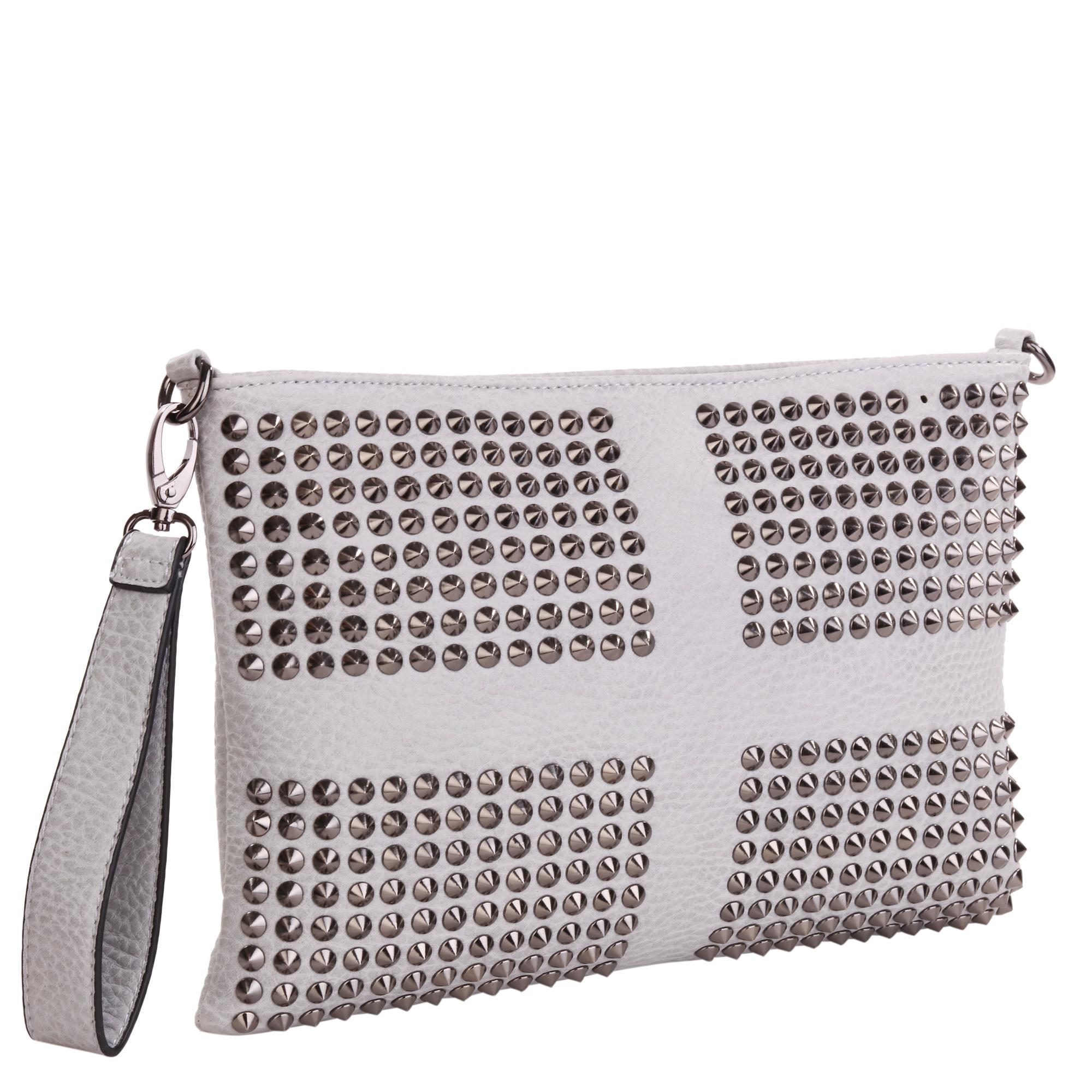 Сумка женская Pola, цвет: серый. 8273-068273-06Женская сумка Pola выполнена из экокожи. Основное отделение закрывается на молнию, внутри два открытых кармана и карман на молнии. Снаружи карман на молнии сзади сумки. В комплекте съемный плечевой ремень, регулируемый по длине, максимальная высота 58 см. Также есть съемная ручка для переноски на кисти. Цвет фурнитуры- черный.