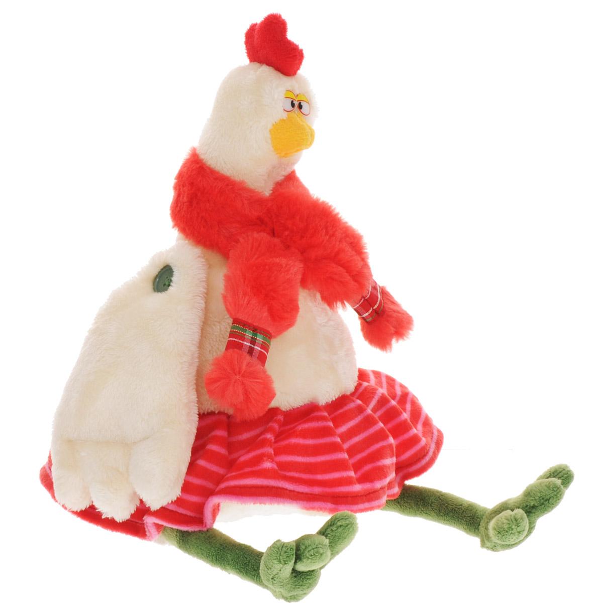 Budibasa Мягкая игрушка Курочка Генриетта 28 смRs26-013Очаровательная мягкая игрушка Budibasa Курочка Генриетта принесет радость и подарит своему обладателю мгновения нежных объятий и приятных воспоминаний. Игрушка очень похожа на своего живого прототипа. У курочки небольшая юбочка в полоску и пушистый шарфик. Крылышки подвижны. Игрушка изготовлена из мягкого искусственного меха с наполнителем из полиэфирного волокна. Великолепное качество исполнения делают эту игрушку чудесным подарком к любому празднику, как для ребенка, так и для взрослых.