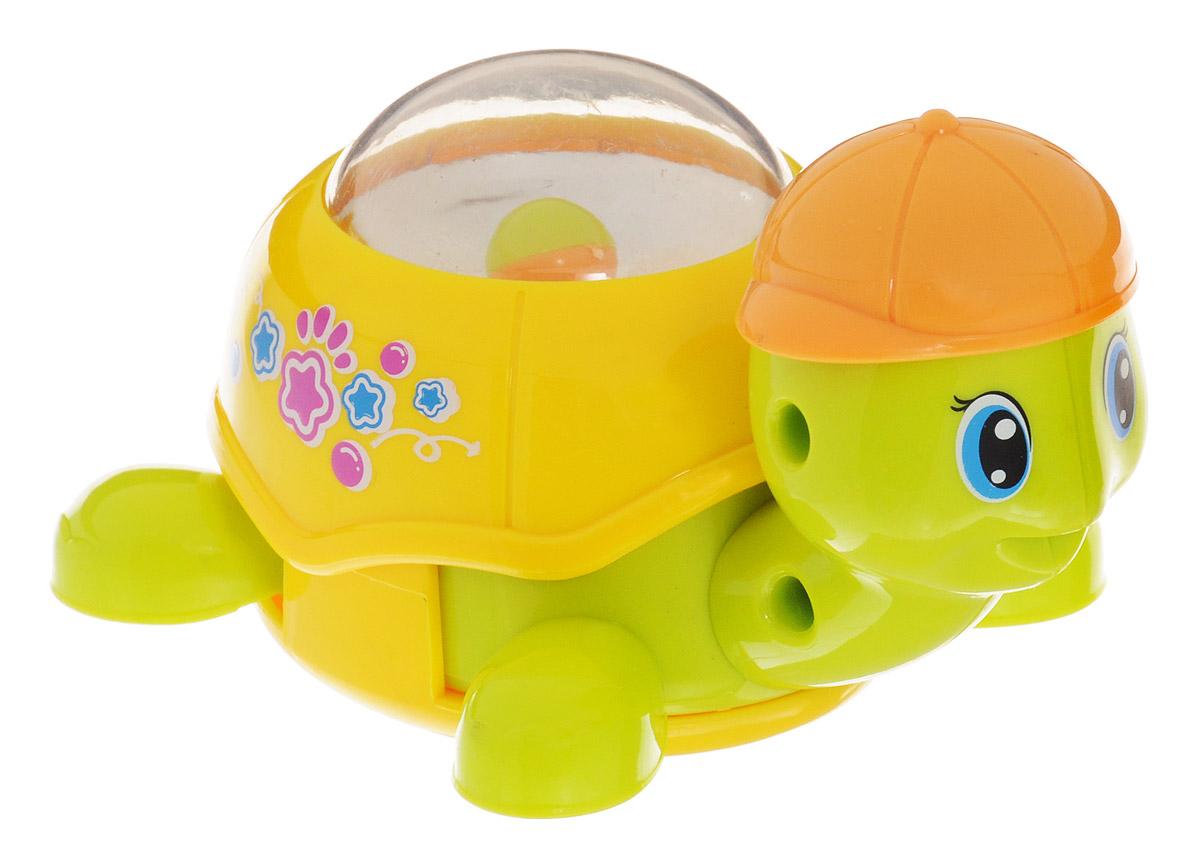 Huile Toys Заводная игрушка Черепашка цвет желтый