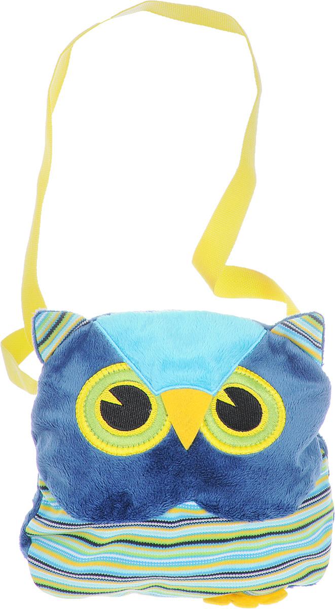 Fancy Сумка детская Сова цвет синий зеленыйSSV0_синий, зеленыйДетская сумка Fancy Сова обязательно понравится каждой маленькой моднице. Сумочка выполнена в виде яркой полосатой совы и декорирована ушками, лапками и милой мордочкой с вышитыми глазками. Сумка изготовлена из мягкого ворсового трикотажа. Изделие имеет одно отделение, которое закрывается на застежку-молнию. Сумка имеет длинную лямку для ношения на плече (не фиксируется по длине). Порадуйте свою малышку таким замечательным подарком!