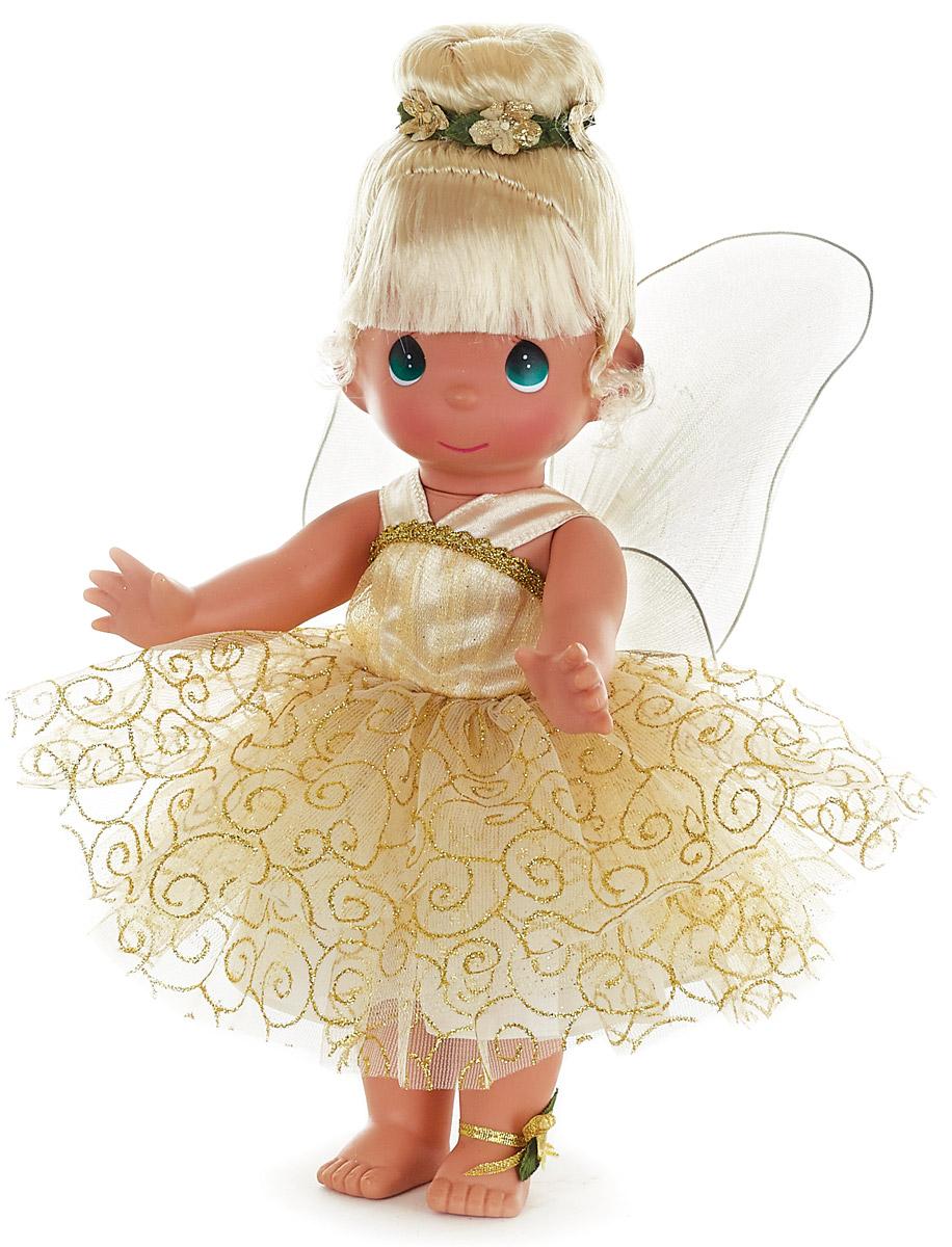 Precious Moments Кукла Божественная фея блондинка6579Коллекция кукол Precious Moments высотой 30 см насчитывает на сегодняшний день более 600 видов. Куклы изготавливаются целиком из винила и имеют пять базовых точек артикуляции. Каждый год в коллекцию добавляются все новые и новые модели. Каждая кукла имеет свой неповторимый образ и характер. Она - хранитель драгоценных моментов – может быть подарком на память о каком-либо событии в жизни. Куклы выполнены с любовью и нежностью, которую дарит нам известная волшебница – создатель кукол Линда Рик!