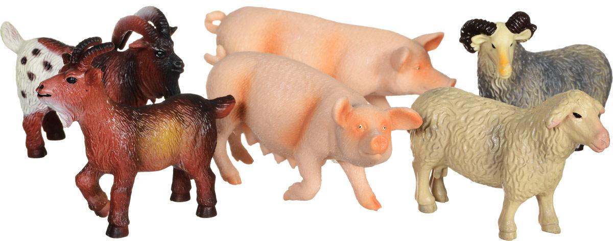 Wenno Набор фигурок Животные Европы 6 штWEU06005Набор фигурок Wenno Животные Европы познакомит вашего ребенка с окружающим миром. В набор входят шесть фигурок - 2 свиньи, овца, баран и другие, которые имеют высокую степень сходства с настоящими животными. Фигурки выполнены с максимальной детализацией, чтобы дать ребенку представление о том, как выглядят животные в природе. Совместные игры с фигурками Wenno - это познавательное времяпрепровождение для всей семьи. Фигурки изготовлены из качественного материала, не токсичны и не вызывают аллергию. В набор входят карточки. Вам необходимо скачать сканер QR кодов, выбрать язык (по умолчанию - английский). Просканируйте QR код на каждой карточке, приложение покажет информацию о разных животных.