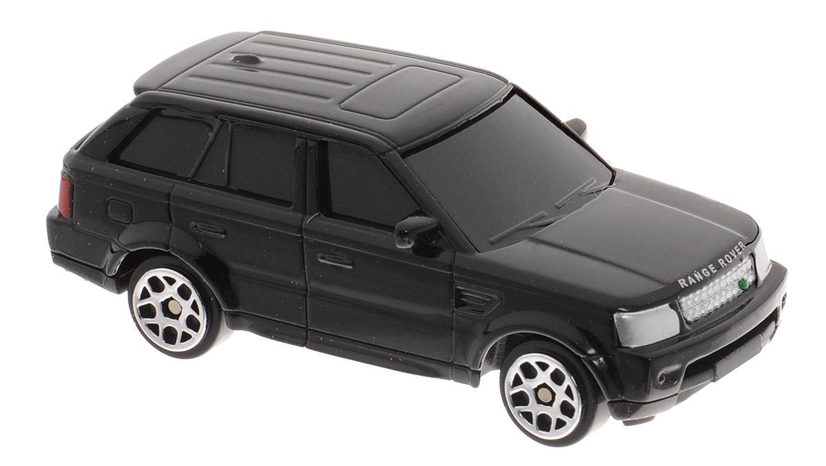 Uni-Fortune Toys Модель автомобиля Land Rover Range Rover Sport цвет черный344009S_черныйМодель автомобиля Uni-Fortune Toys Land Rover Range Rover Sport станет любимой игрушкой вашего ребенка. Благодаря броской внешности, а также великолепной точности, с которой создатели этой модели масштабом 1:64 передали внешний вид настоящего автомобиля, модель станет подлинным украшением любой коллекции авто. Машина будет долго служить своему владельцу благодаря металлическому корпусу с элементами из пластика. Колеса машинки имеют свободный ход. Модель автомобиля обязательно понравится вашему ребенку и станет достойным экспонатом любой коллекции.