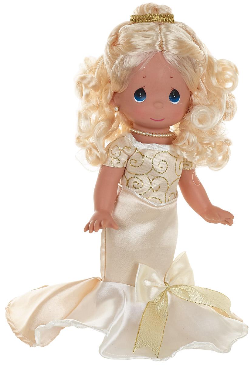 Precious Moments Кукла Элегантность блондинка6555Коллекция кукол Precious Moments высотой 30 см насчитывает на сегодняшний день более 600 видов. Куклы изготавливаются целиком из винила и имеют пять базовых точек артикуляции. Каждый год в коллекцию добавляются все новые и новые модели. Каждая кукла имеет свой неповторимый образ и характер. Она - хранитель драгоценных моментов – может быть подарком на память о каком-либо событии в жизни. Куклы выполнены с любовью и нежностью, которую дарит нам известная волшебница – создатель кукол Линда Рик!
