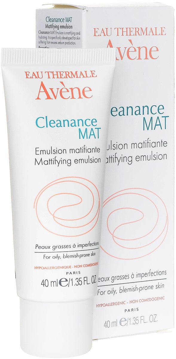 Avene Эмульсия Cleananse Mat против жирного блеска, 40 млC48270AРегулирует выделение себума и длительно сохраняет кожу матовой. Увлажняет жирную кожу и служит прекрасной основой под макияж. Не содержит парабены.