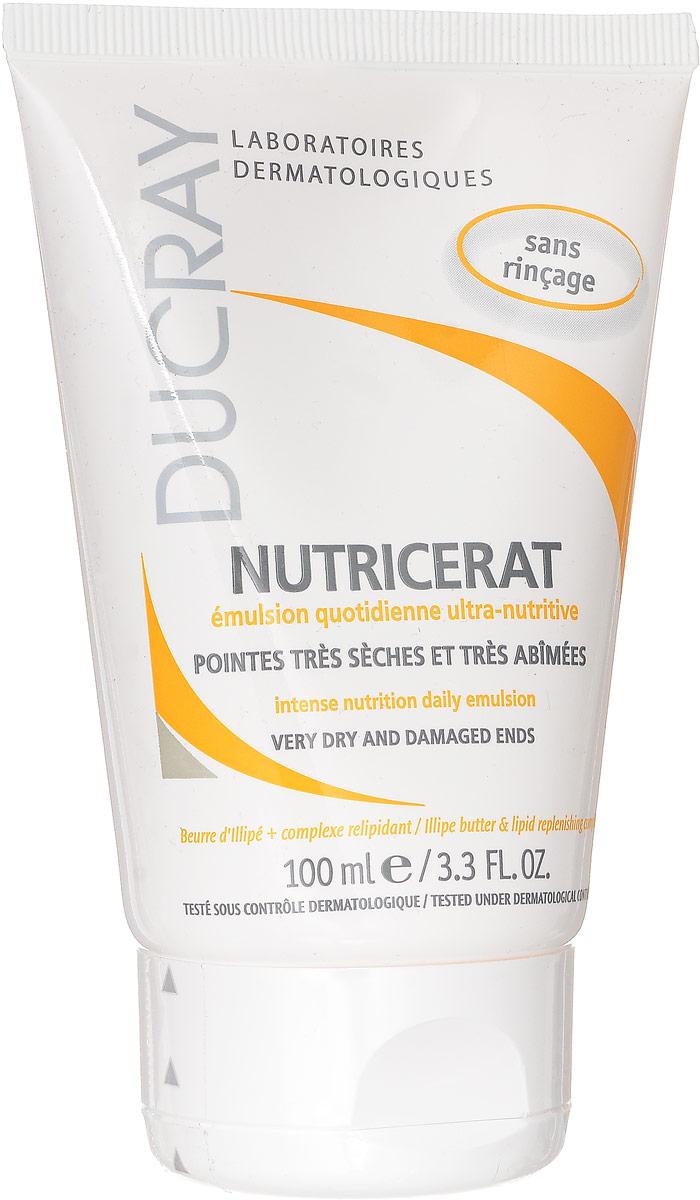 Ducray Сверхпитательная эмульсия для волос Nutricerat, 100 млC17868Разглаживает и защищает поврежденные кончики волос. Облегчает расчесывание и укладку.