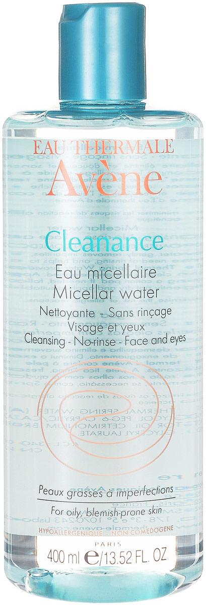 Avene Мицеллярная вода Cleananse, 400 млC48484Очищающая вода Cleananse содержит термальную воду Avene в высокой концентрации. Мягко удаляет загрязнения и макияж, в том числе водостойкий, а за счет глицерила лаурата помогает контролировать выработку кожного сала. Кожа становится чистой, свежей и обновленной.