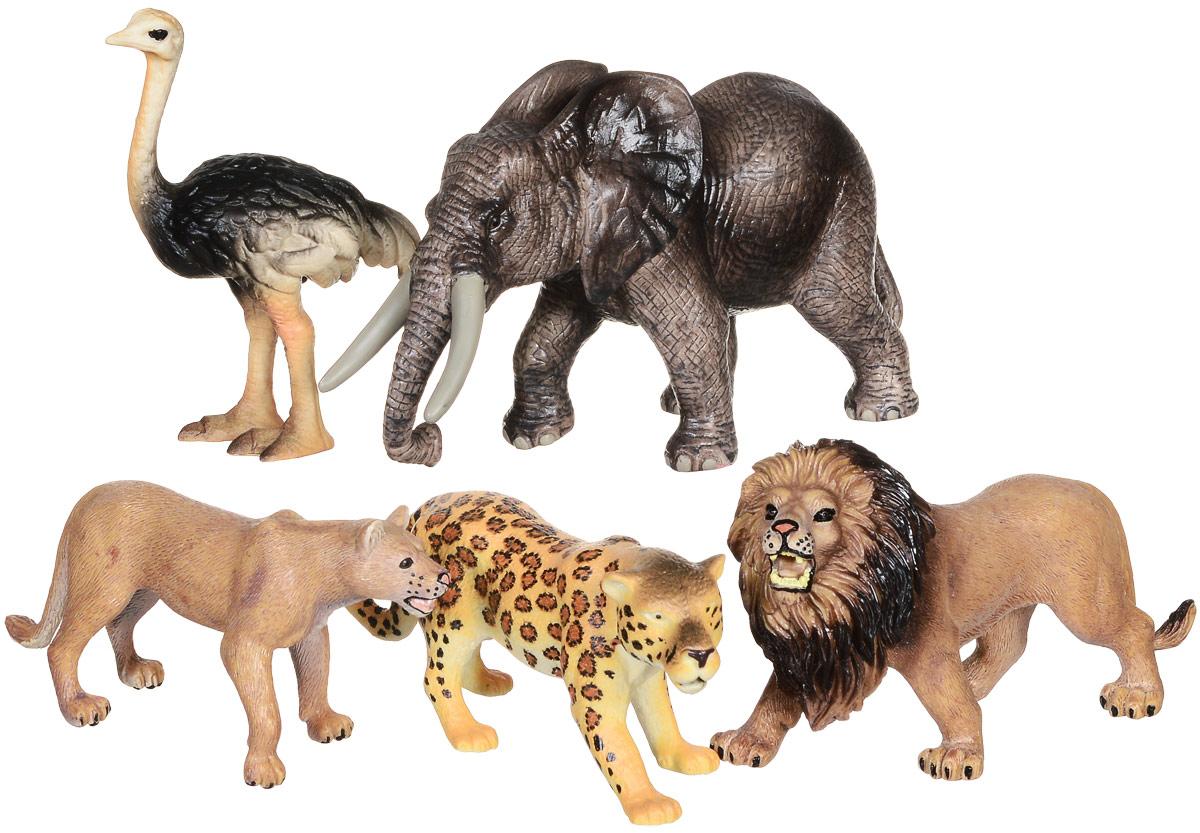 Wenno Набор фигурок Животные Африки 5 шт WAF06001WAF06001Набор фигурок Wenno Животные Африки познакомит вашего ребенка с окружающим миром. В набор входят пять фигурок - лев, слон и другие, которые имеют высокую степень сходства с настоящими животными. Фигурки выполнены с максимальной детализацией, чтобы дать ребенку представление о том, как выглядят животные в природе. Кроме того, фигурки можно использовать в качестве наглядного пособия при изучении животного мира. Фигурки изготовлены из качественного материала, не токсичны и не вызывают аллергию. В набор входят карточки. Вам необходимо скачать сканер QR кодов, выбрать язык (по умолчанию - английский). Просканируйте QR код на каждой карточке, приложение покажет информацию о разных животных.