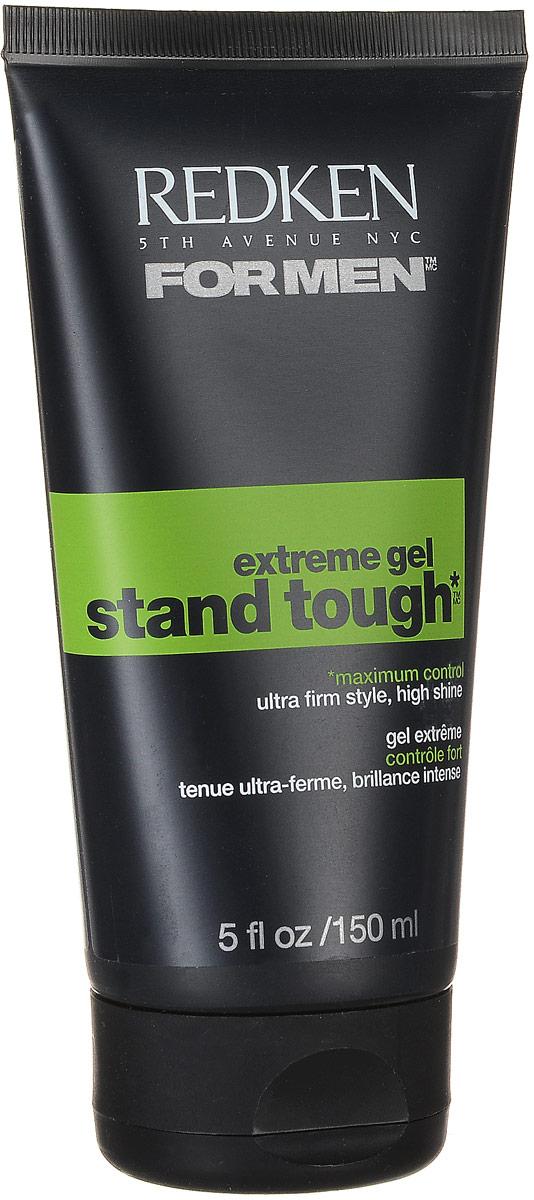 Redken For Men Stand Tough Extreme Гель супер сильной фиксации, 150 млP0754600Создает острые экстремальные формы и придает блеск. Stand Tough гель обладает всеми необходимыми свойствами, которые помогут не только придать прическе прочность, но и снабдят волосы необходимыми для них витаминами. При этом, он не вызовет никаких аллергических реакций. Ионные связи, на основе которых разработан данный продукт, придадут удивительную форму любой укладке, которая не утратит своего вида на протяжении многих часов. К одним из положительных качеств данного геля можно также отнести такое его свойство, как защита волос от вредного воздействия окружающей среды. А тот факт, что гель наносится на влажные волосы, делает его еще более щадящим средством для укладки волос, так как гели, наносимые на сухие волосы, изменяют структуру волос и делают их ломкими и сухими.