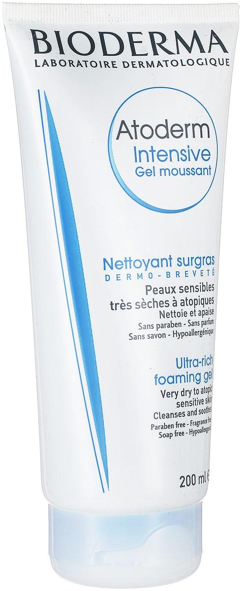 Bioderma Atoderm Мусс Интенсив, 200 мл28124Мусс Интенсив предназначен для ежедневного очищения очень сухой и атопичной кожи. Подходит для лица и и для тела. Можно использовать даже новорожденным. Бережно очищает и смягчает кожу. Восстанавливает кожный барьер и оказывает противовоспалительное действие (Витамин РР), активируя синтез церамидов, холестерина, жирных кислот. Мягкая очищающая основа растительного происхождения и производное пальмового масла, ксилитол обеспечивают деликатное очищение и смягчают кожу. Меди сульфат и цинка сульфат снижают риск вторичного инфицирования.