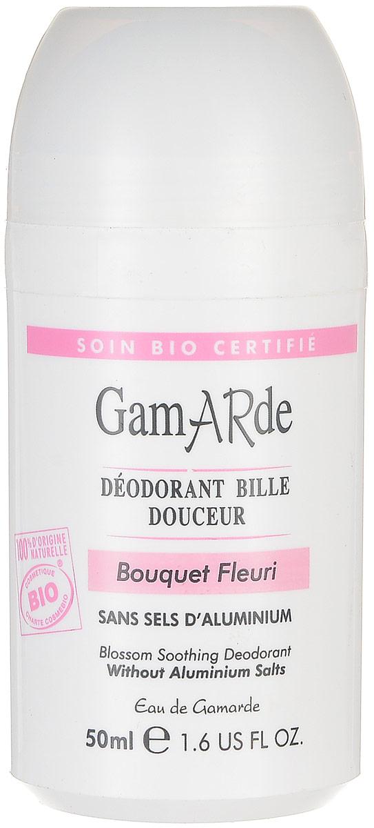 GamARde Body Care Дезодорант шариковый Цветочный букет, 50 млG631Дезодорант прекрасно справляется с неприятными запахами, предотвращает их появление, препятствует появлению любых раздражений, покраснений и сухости, кожа увлажняется и оживает, приятный запах остается надолго.