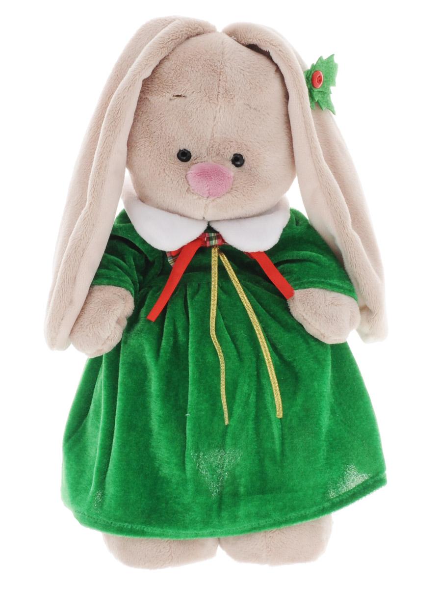 Мягкая игрушка Зайка Ми в рождественском платье 32 смStM-157Мягкая игрушка Зайка Ми подарит малышу много радостных моментов. Игрушка изготовлена на основе сказочных образов двух зайчиков. Зайки Мика и Мия похожи друг на друга, как две пуговки на одной рубашке. Поэтому все зовут их ЗайкаМи. Эти милые зайки необыкновенно творческие натуры и ни минуты не сидят без дела. Зайка Ми и волшебство Рождества. Волшебство Рождества захватило Зайку Ми. Какой прекрасный праздник - добрый, домашний, красивый и вкусный! Сколько подарков ожидает найти малышка рождественским утром под елкой! Правда, мама предупреждала, что подарки получают только послушные зайки, которые весь год ведут себя хорошо. Но для Зайки Ми это точно не препятствие! Послушнее и прилежнее зайки во всем заячьем королевстве не найти! Никто не ставит этот факт под сомнение. А потому Зайка Ми ждет Рождество и готовится к нему. Вот и платье уже сшили. Обратите внимание на украшение из остролиста на ушке. Зайка Ми сама его сделала, собственными лапками. Играя, малыш развивает...