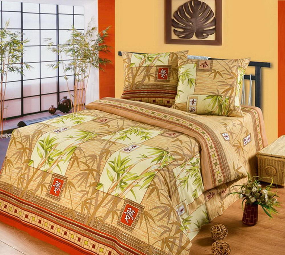 Комплект белья Cleo Китайский бамбук, 1,5-спальный, наволочки 70x7015/303-BКоллекция постельного белья из бязи CLEO – это классика сна. Вся коллекция выполнена из 100% хлопка, т.е. во время сна будет комфортно в любое время года! Благодаря пигментному способу нанесение печати, даже после многократных стирок (деликатный режим), постельное белье сохраняет свой первоначальный вид. Постельное белье из бязи имеет ряд уникальных свойств: экологичность, гипоаллергенность, благодаря особому способу переплетения нитей в полотне, обеспечивается особая плотность ткани, что делает ее устойчивой к износу, сохраняется внешний вид на долгие годы, загрязнения прекрасно отстирываются любыми средствами, не садится, легко гладится, не накапливает статического электричества, благодаря составу из 100% хлопка, обладает исключительной терморегуляцией. Комплект состоит из пододеяльника, двух наволочек и простыни.