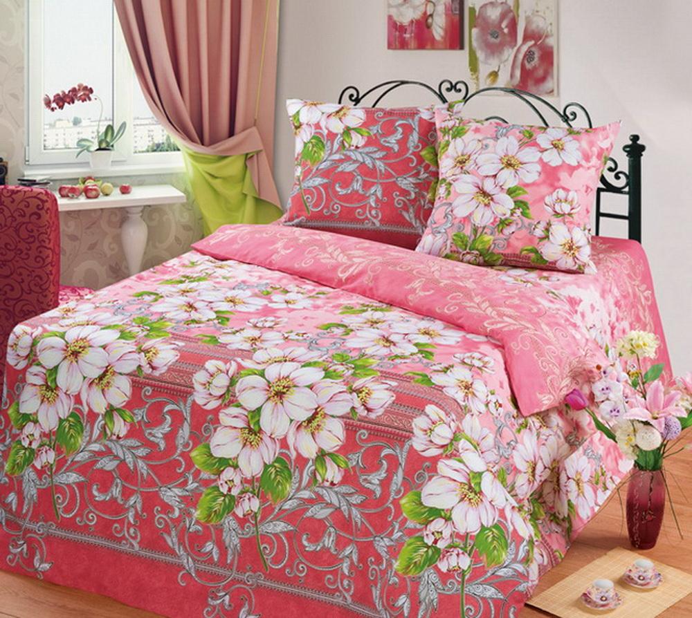 Комплект белья Cleo Яблоневый цвет, 1,5-спальный, наволочки 70x7015/335-BКоллекция постельного белья из бязи CLEO – это классика сна. Вся коллекция выполнена из 100% хлопка, т.е. во время сна будет комфортно в любое время года! Благодаря пигментному способу нанесение печати, даже после многократных стирок (деликатный режим), постельное белье сохраняет свой первоначальный вид. Постельное белье из бязи имеет ряд уникальных свойств: экологичность, гипоаллергенность, благодаря особому способу переплетения нитей в полотне, обеспечивается особая плотность ткани, что делает ее устойчивой к износу, сохраняется внешний вид на долгие годы, загрязнения прекрасно отстирываются любыми средствами, не садится, легко гладится, не накапливает статического электричества, благодаря составу из 100% хлопка, обладает исключительной терморегуляцией. Комплект состоит из пододеяльника, двух наволочек и простыни.