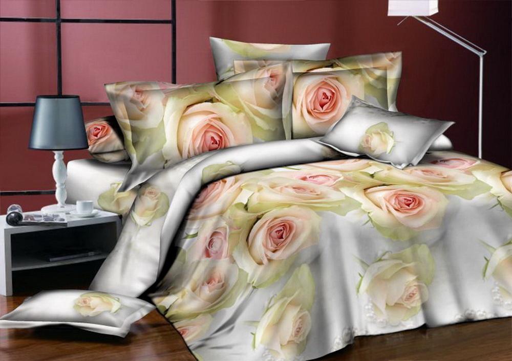 Комплект белья Cleo Чайные розы, 1,5-спальный, наволочки 70x7015/342-BКоллекция постельного белья из бязи CLEO – это классика сна. Вся коллекция выполнена из 100% хлопка, т.е. во время сна будет комфортно в любое время года! Благодаря пигментному способу нанесение печати, даже после многократных стирок (деликатный режим), постельное белье сохраняет свой первоначальный вид. Постельное белье из бязи имеет ряд уникальных свойств: экологичность, гипоаллергенность, благодаря особому способу переплетения нитей в полотне, обеспечивается особая плотность ткани, что делает ее устойчивой к износу, сохраняется внешний вид на долгие годы, загрязнения прекрасно отстирываются любыми средствами, не садится, легко гладится, не накапливает статического электричества, благодаря составу из 100% хлопка, обладает исключительной терморегуляцией. Комплект состоит из пододеяльника, двух наволочек и простыни.