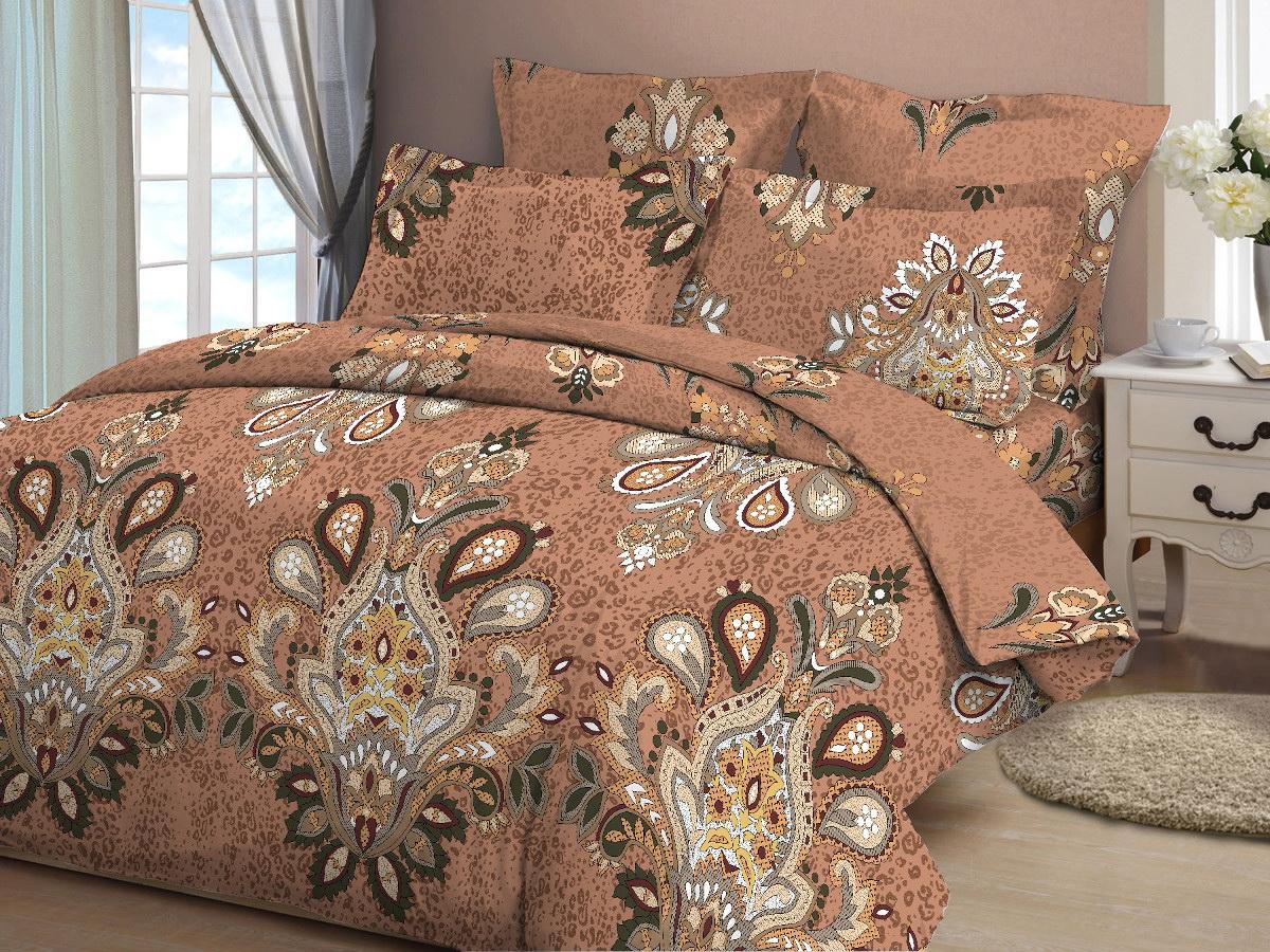 Комплект белья Cleo Измир, 2-спальный, наволочки 70x70, цвет: коричневый20/349-BКоллекция постельного белья из бязи CLEO – это классика сна. Вся коллекция выполнена из 100% хлопка, т.е. во время сна будет комфортно в любое время года! Благодаря пигментному способу нанесение печати, даже после многократных стирок (деликатный режим), постельное белье сохраняет свой первоначальный вид. Постельное белье из бязи имеет ряд уникальных свойств: экологичность, гипоаллергенность, благодаря особому способу переплетения нитей в полотне, обеспечивается особая плотность ткани, что делает ее устойчивой к износу, сохраняется внешний вид на долгие годы, загрязнения прекрасно отстирываются любыми средствами, не садится, легко гладится, не накапливает статического электричества, благодаря составу из 100% хлопка, обладает исключительной терморегуляцией. Комплект состоит из пододеяльника, двух наволочек и простыни.