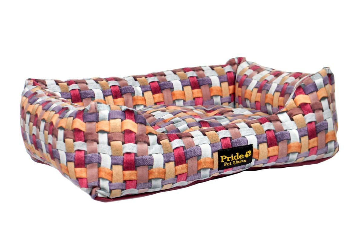 Лежак для животных Pride Калейдоскоп, 60 х 50 х 18 см10012301