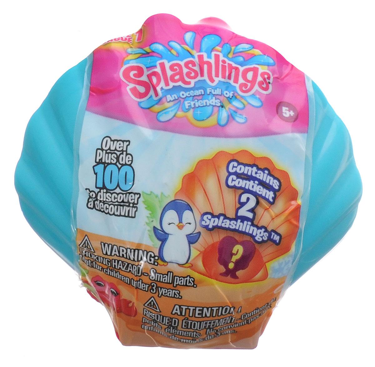 Splashlings Ракушка с 2 фигурками302215Splashlings - это коллекция замечательных фигурок - обитателей подводного мира. В серии встречаются разнообразные рыбки, дельфины, морские звезды, скаты, медузы и другие. Фигурки выполнены из высококачественных материалов, выглядят очень ярко и эффектно - увлекательная сюжетно-ролевая игра с ними гарантирована! В наборе вы найдете 2 фигурки, спрятанные в ракушке, в которой можно их хранить. Соберите целую коллекцию забавных морских обитателей!