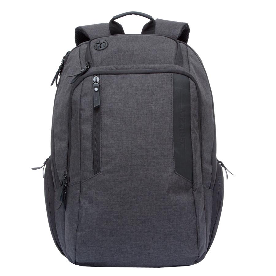 Рюкзак молодежный Grizzly, цвет: черный. 32 л. RU-700-6/1RU-700-6/1Рюкзак молодежный, два отделения, карман на молнии на передней стенке, боковые стяжки-фиксаторы, объемные боковые карманы на молнии, внутренний карман на молнии, внутренний карман-пенал для карандашей, внутренний укрепленный карман для ноутбука, укрепленная спинка, карман для аудиоплеера, дополнительная ручка-петля, нагрудная стяжка-фиксатор, укрепленные лямки, брелок для ключей