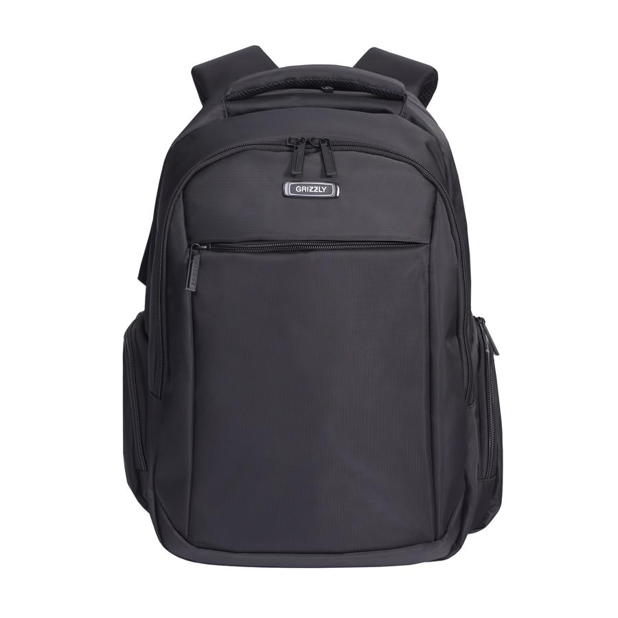Рюкзак молодежный Grizzly, цвет: черный. 32 л. RU-700-4/3RU-700-4/3Рюкзак молодежный, два отделения, карман на молнии на передней стенке, объемные боковые карманы на молнии, внутренний карман на молнии, внутренний составной пенал-органайзер, внутренний укрепленный карман для ноутбука, анатомическая спинка, мягкая укрепленная ручка, нагрудная стяжка-фиксатор