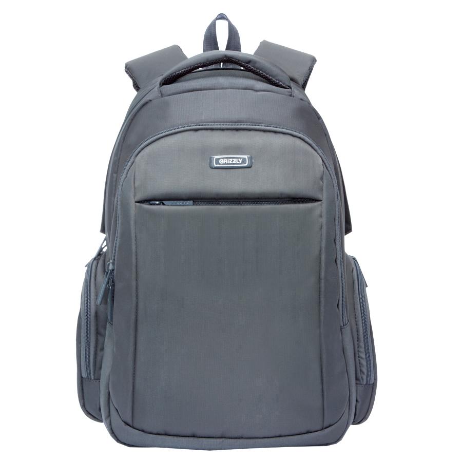 Рюкзак молодежный Grizzly, цвет: темно-серый. 32 л. RU-700-4/1RU-700-4/1Рюкзак молодежный, два отделения, карман на молнии на передней стенке, объемные боковые карманы на молнии, внутренний карман на молнии, внутренний составной пенал-органайзер, внутренний укрепленный карман для ноутбука, анатомическая спинка, мягкая укрепленная ручка, нагрудная стяжка-фиксатор