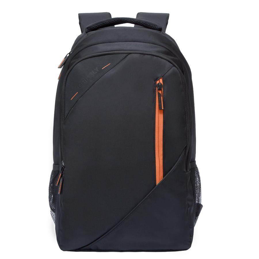 Рюкзак молодежный Grizzly, цвет: черный-оранжевый. 32 л. RU-700-3/1RU-700-3/1Рюкзак молодежный, два отделения, карман на молнии на передней стенке, боковые карманы из сетки, внутренний карман на молнии, внутренний составной пенал-органайзер, внутренний укрепленный карман для ноутбука, жесткая анатомическая спинка, карман быстрого доступа на задней стенке, мягкая укрепленная ручка, нагрудная стяжка-фиксатор