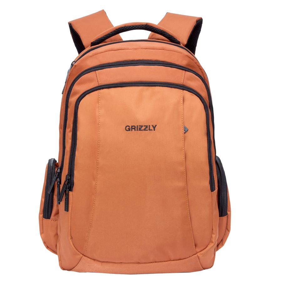 Рюкзак молодежный Grizzly, цвет: коричневый. 32 л. RU-700-2/3RU-700-2/3Рюкзак молодежный, три отделения, карман на молнии на передней стенке, объемные боковые карманы на молнии, внутренний карман на молнии, внутренний составной пенал-органайзер, внутренний укрепленный карман для ноутбука, анатомическая спинка, мягкая укрепленная ручка, нагрудная стяжка-фиксатор, укрепленные лямки