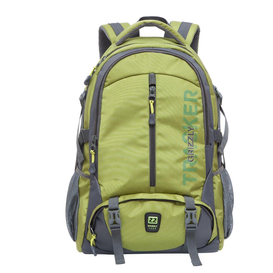 Рюкзак молодежный Grizzly, цвет: салатовый. 32 л. RU-617-2/1RU-617-2/1Рюкзак молодежный, два отделения, карман на молнии на передней стенке, объемный карман на молнии на передней стенке, боковые карманы из сетки, боковые стяжки-фиксаторы, внутренний карман для ноутбука, жесткая анатомическая спинка, дополнительная ручка-петля, мягкая укрепленная ручка, нагрудная стяжка-фиксатор, укрепленные лямки