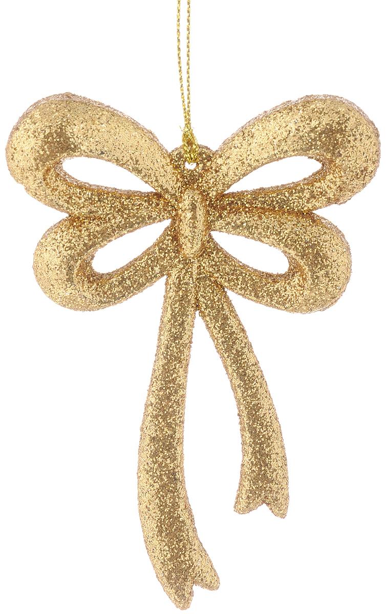 Украшение новогоднее подвесное Magic Time Бантик, 8 х 11 см38738Новогоднее подвесное украшение Magic Time Бантик выполнено из полипропилена в виде бантика и украшено блестками. С помощью специальной петельки украшение можно повесить в любом понравившемся вам месте. Но, конечно, удачнее всего оно будет смотреться на праздничной елке. Елочная игрушка - символ Нового года. Она несет в себе волшебство и красоту праздника. Создайте в своем доме атмосферу веселья и радости, украшая новогоднюю елку нарядными игрушками, которые будут из года в год накапливать теплоту воспоминаний.