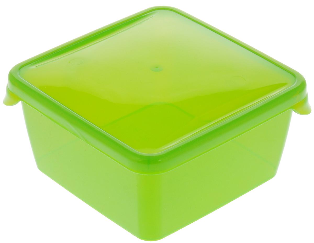 Контейнер P&C Браво, цвет: салатовый, 450 млПЦ1030_салатовыйКонтейнер P&C Браво выполнен из высококачественного пищевого прозрачного пластика и предназначен для хранения и транспортировки пищи. Крышка легко открывается и плотно закрывается с помощью легкого щелчка. Подходит для использования в микроволновой печи без крышки (до +70°С), для заморозки при минимальной температуре -30°С. Можно мыть в посудомоечной машине.