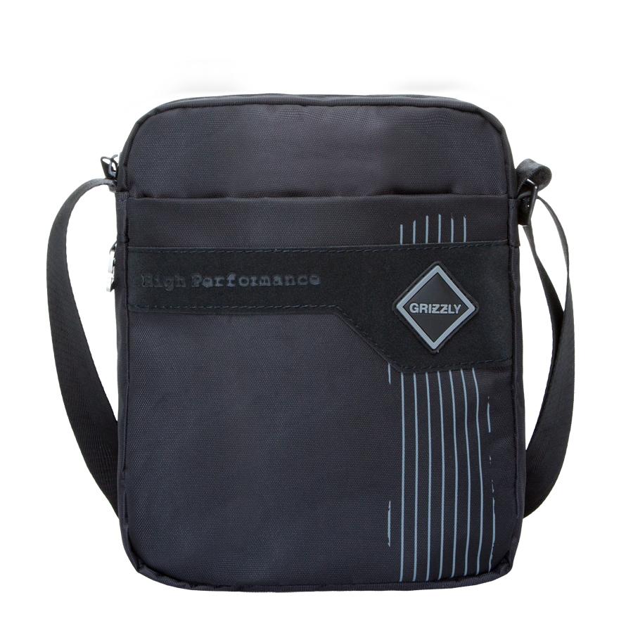 Сумка молодежная Grizzly, цвет: черный-серый. 5 л. MM-618-4/3MM-618-4/3Молодежная сумка, два отделения, плоский передний карман на молнии, задний карман на молнии, внутренний карман для ноутбука/планшета, регулируемый плечевой ремень