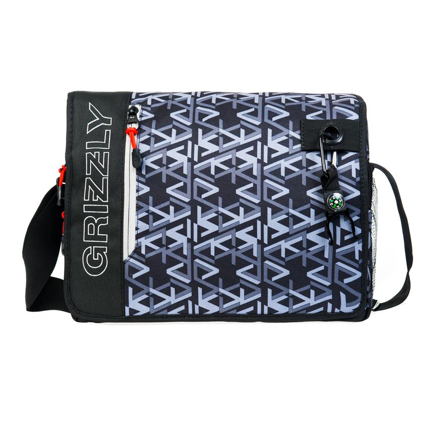 Сумка молодежная Grizzly, цвет: серый. 14 л. MM-610-3/4MM-610-3/4Молодежная сумка, одно отделение, клапан на липучках с карманом на молнии, объемный передний карман на молнии, внутренний карман для ноутбука/планшета, внутренний карман на молнии, регулируемый плечевой ремень, брелок-игрушка