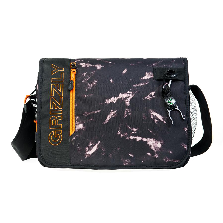 Сумка молодежная Grizzly, цвет: черный. 14 л. MM-610-3/3MM-610-3/3Молодежная сумка, одно отделение, клапан на липучках с карманом на молнии, объемный передний карман на молнии, внутренний карман для ноутбука/планшета, внутренний карман на молнии, регулируемый плечевой ремень, брелок-игрушка