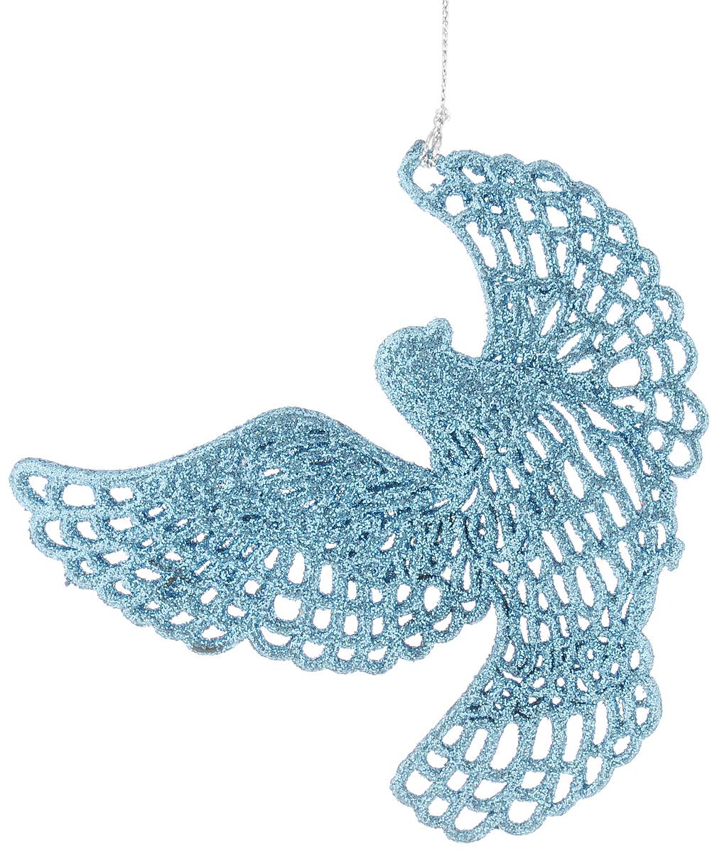 Украшение новогоднее подвесное Magic Time Небесная голубка 11,5 х 11,5 см42098Новогоднее подвесное украшение Magic Time Небесная голубка выполнено из полипропилена в виде голубки и украшено блестками. С помощью специальной петельки украшение можно повесить в любом понравившемся вам месте. Но, конечно, удачнее всего оно будет смотреться на праздничной елке. Елочная игрушка - символ Нового года. Она несет в себе волшебство и красоту праздника. Создайте в своем доме атмосферу веселья и радости, украшая новогоднюю елку нарядными игрушками, которые будут из года в год накапливать теплоту воспоминаний.