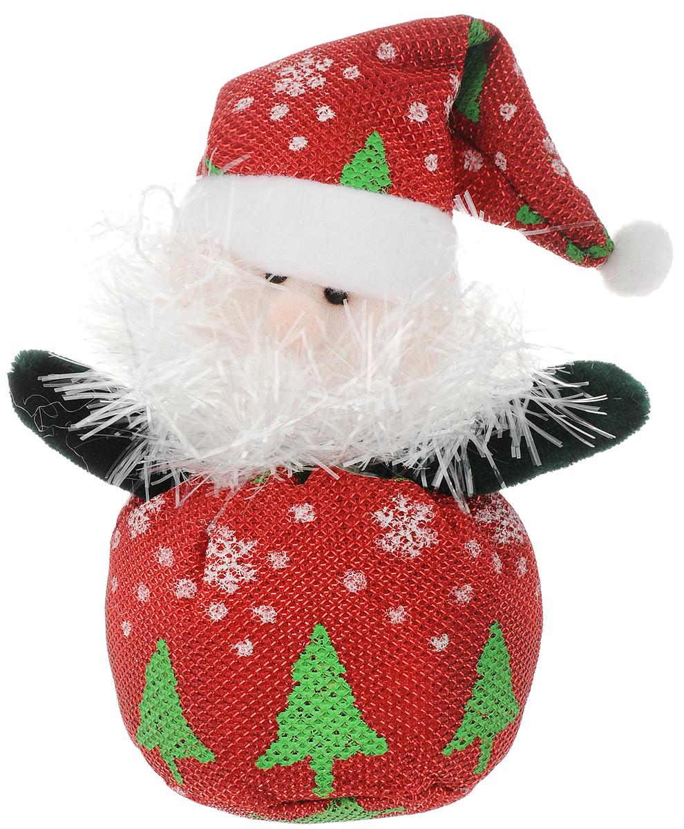 Украшение новогоднее подвесное Феникс-Презент Дед мороз узорный, 26 x 842524Новогоднее подвесное украшение Феникс-Презент Дед мороз узорный выполнено из полиэстера в виде мягкой фигурки Деда Мороза. С помощью специальной петельки украшение можно повесить в любом понравившемся вам месте. Но, конечно, удачнее всего оно будет смотреться на праздничной елке. Елочная игрушка - символ Нового года. Она несет в себе волшебство и красоту праздника. Создайте в своем доме атмосферу веселья и радости, украшая новогоднюю елку нарядными игрушками, которые будут из года в год накапливать теплоту воспоминаний. Материал: полиэстер. Размеры: 26 х 8 см.